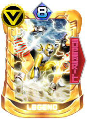 GingaYellow Card in Super Sentai Legend Wars