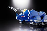 Soul of Chogokin Triceratops Dinozord 1