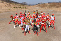 Gokai-sentaired