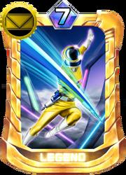 MegaYellow Card in Super Sentai Legend Wars