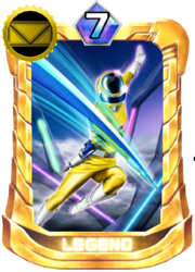 MegaYellow Card in Super Sentai Legend Wars