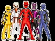Power Rangers Jungle Fury (Team)
