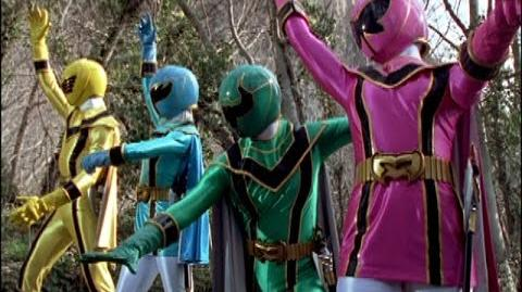 "Power Rangers Mystic Force - First Mission and Morph - Episode 2 ""Broken Spell"""