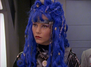 Astronema blue hair
