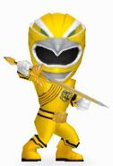 Yellow Wild Force Ranger in Power Rangers Dash