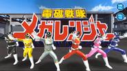 Denji Sentai Megaranger in Super Sentai Legacy Wars 1