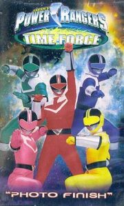 Power Rangers Time Force- Photo Finish