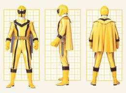 Желтый Мистический Рейнджер