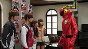 AkaRed in Super Sentai Versus Series Theater