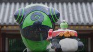 Fake Chameleon Green