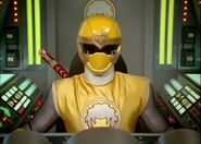 Ninja Storm yellow cockpit