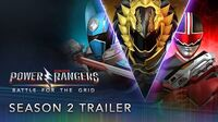 Power Rangers Battle for the Grid - Season Two Pass Trailer