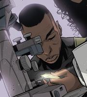 Solarix being examined by Terona