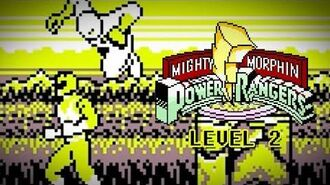 Mighty Morphin Power Rangers (Game Boy) - Level 2 Gameplay - Megazord vs. King Sphinx