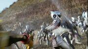 Go-On Silver Legend War