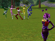 Power rangers sims 3 by thepngstage29101832306