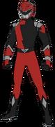 Red Hyperforce Ranger