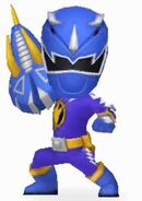 Blue Dino Ranger in Power Rangers Dash