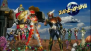 KyoryugerGaim Superhero Time Fall 2013