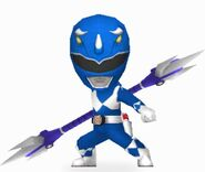 Mighty Morphin Blue Ranger in Power Rangers Dash