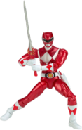 Legacy MMPR Red Ranger Metallic