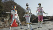 White Gokai Change