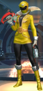 Legacy Wars Yellow Super Megaforce Ranger