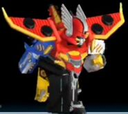 Gosei Great Megazord in Power Rangers Dash