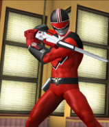 Legacy Wars Quantum Time Force Ranger Victory Pose