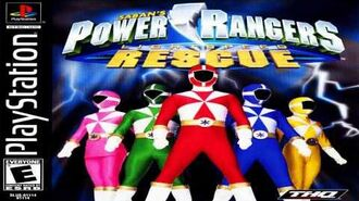 Power Rangers Lightspeed Rescue- Playstation Game (Official Soundtrack)