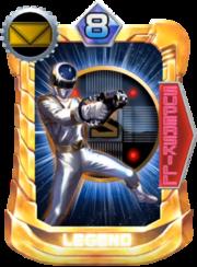 MegaSilver Card in Super Sentai Legend Wars