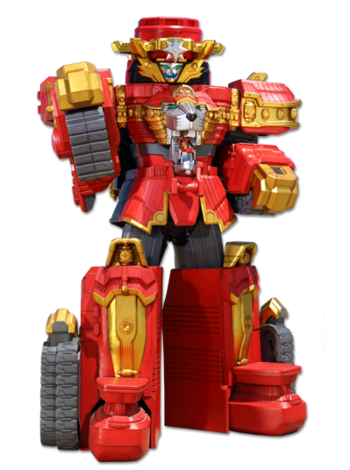 Lion Fire Megazord