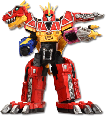 Dino Charge Megazord<br />(Tri-Stego Formation)