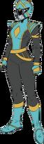 Blue Omega Ranger