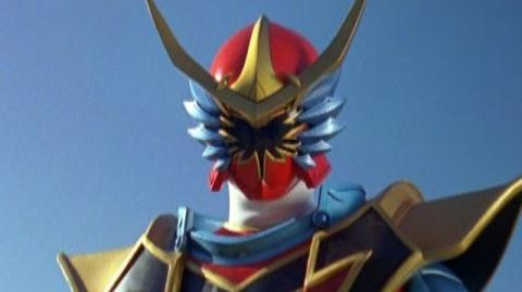 Power Rangers Mystic Force - Red Ranger Battlizer Morph and Fight - Red Dragon Fire Ranger