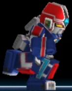 Prism Megazord in Power Rangers Dash