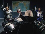 Big Three salute Doctor Man
