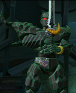 Ecliptor Victory Pose in Legacy Wars