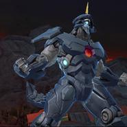 Legacy Wars Black Dragon Victory Pose