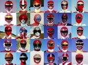 30 Red Senshi