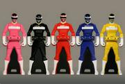 Megaranger Ranger Keys