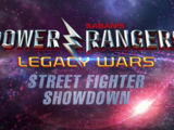 Power Rangers Legacy Wars - Street Fighter Showdown