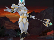 Legacy Wars White Mystic Ranger Victory Pose