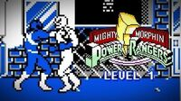 Mighty Morphin Power Rangers (Game Boy) - Level 1 Gameplay - Megazord vs