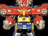 Comparison:Engine Gattai Engine-O vs. High Octane Megazord
