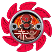 Super Megaforce Red Ninja Power Star (V2)