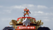 Ninja Steel Ultrazord Gold