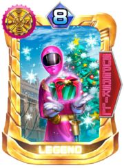 OhPink Card in Super Sentai Legend Wars