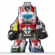 Dekaranger Robo in Battle Base