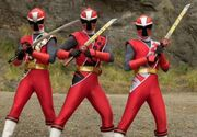 3 Red Rangers